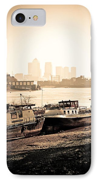 IPhone Case featuring the photograph Old And New London Town by Lenny Carter