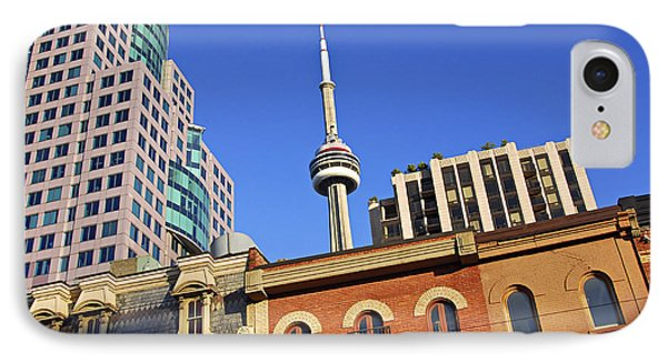 Old And New Toronto Phone Case by Elena Elisseeva