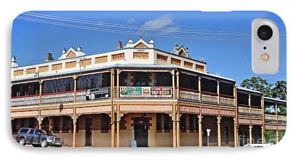 Old Aussie Pub Phone Case by Kaye Menner