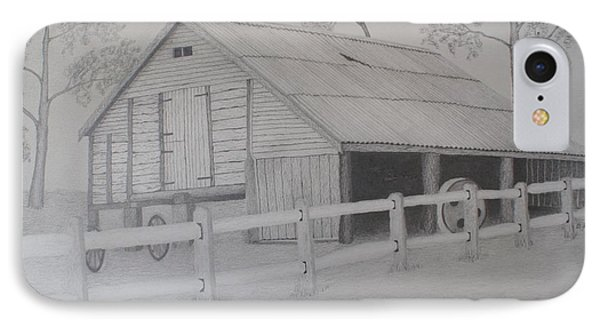 Old Austane Barn Phone Case by Brian Leverton