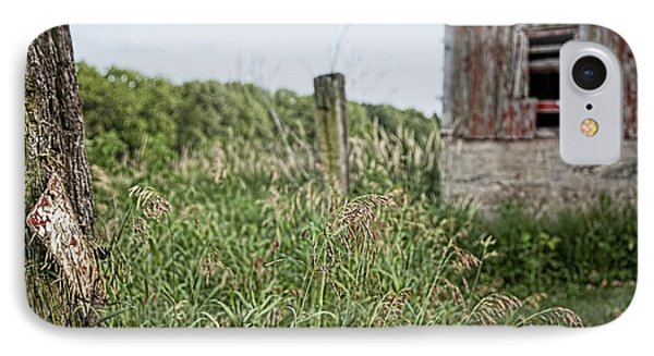 IPhone Case featuring the photograph Old Barn 15 by John Crothers