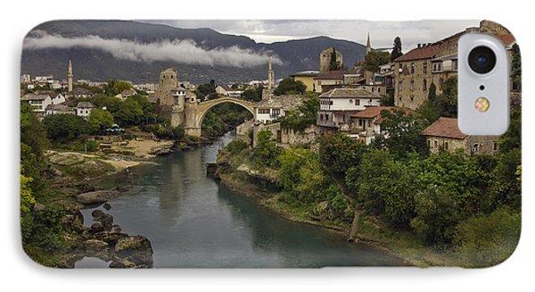 Old Bridge Of Mostar Phone Case by Ayhan Altun