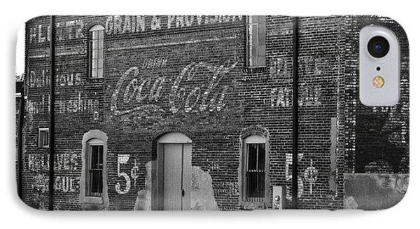 Old Building In Salisbury Nc IPhone Case by Wilma  Birdwell