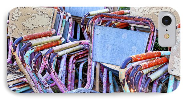 Old Chairs Phone Case by Joana Kruse