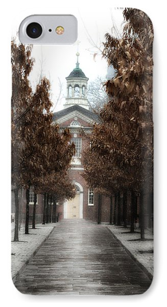 Old City Hall Philadelphia Phone Case by Bill Cannon