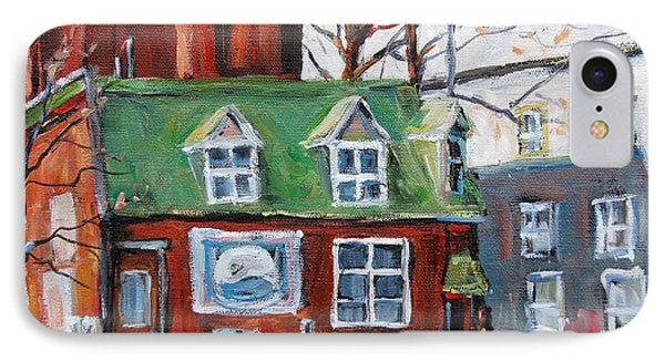 Old Corner Store Montreal By Prankearts Phone Case by Richard T Pranke