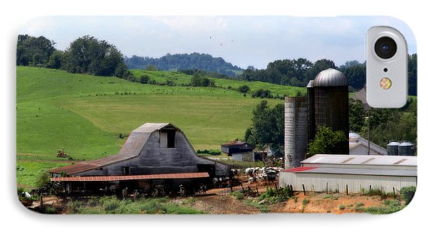 Old Dairy Barn Phone Case by Karen Wiles