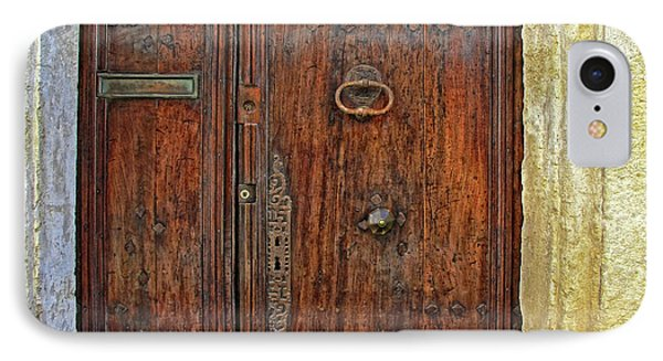IPhone Case featuring the photograph Old Door Study Provence France by Dave Mills