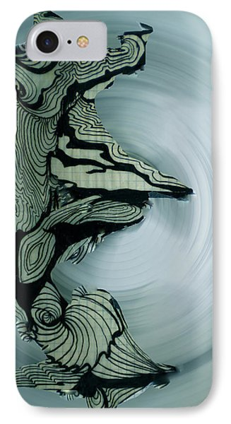 Old Drawing Called Serenity 2   Phone Case by Colette V Hera  Guggenheim