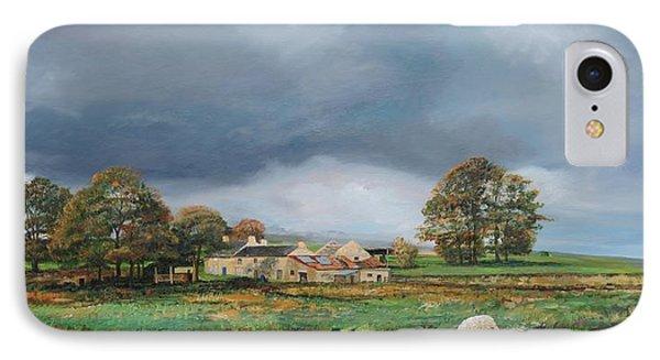 Old Farm - Monyash - Derbyshire Phone Case by Trevor Neal