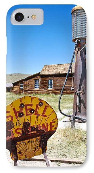 IPhone Case featuring the photograph Old Gas Pumps by Shane Kelly