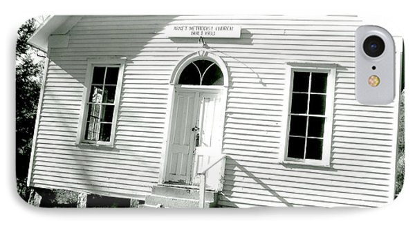 Old Gauley Church IPhone Case by Amy Sorrell