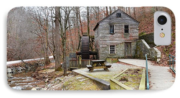 IPhone Case featuring the photograph Old Grist Mill by Paul Mashburn