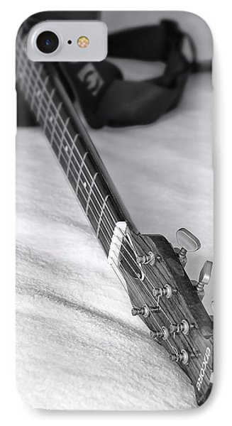 Old Guitar Phone Case by Svetlana Sewell