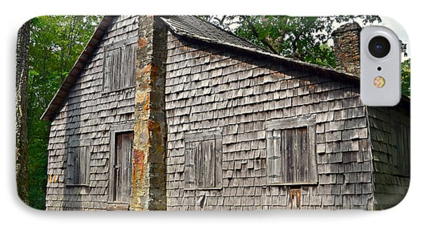 Old Home In Forest Phone Case by Susan Leggett