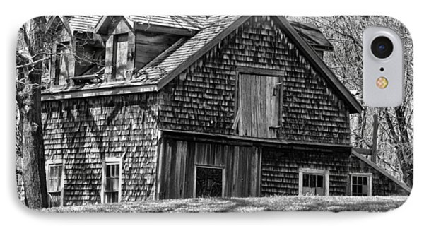 IPhone Case featuring the photograph Old House In Adamsville Ri by Nancy De Flon