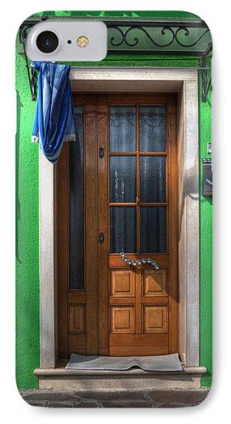 Old Italian Door Phone Case by Joana Kruse