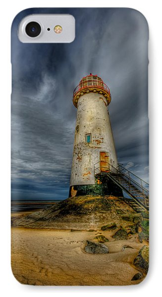 Old Lighthouse Phone Case by Adrian Evans