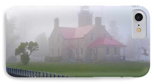 Old Mackinac Point Lighthouse Phone Case by Brian Lambert