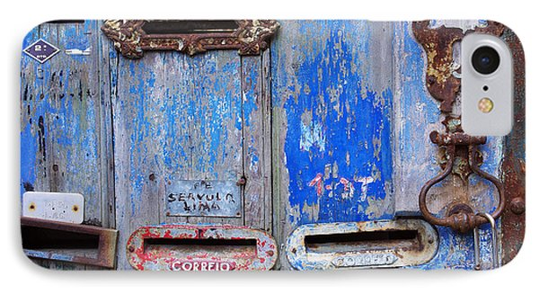 Old Mailboxes IPhone Case by Carlos Caetano