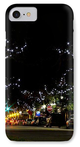 Old Main Street In December Phone Case by Nicholas Evans