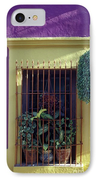 IPhone Case featuring the photograph Old Mazatlan Window by John  Mitchell