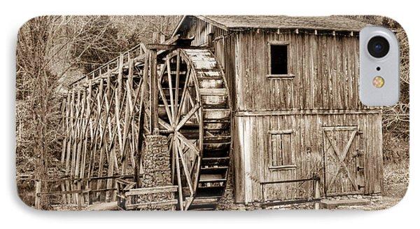 Old Mill In Sepia Phone Case by Douglas Barnett