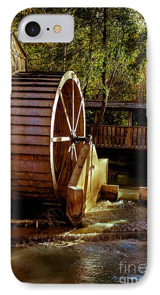 Old Mill Park Wheel Phone Case by Robert Bales