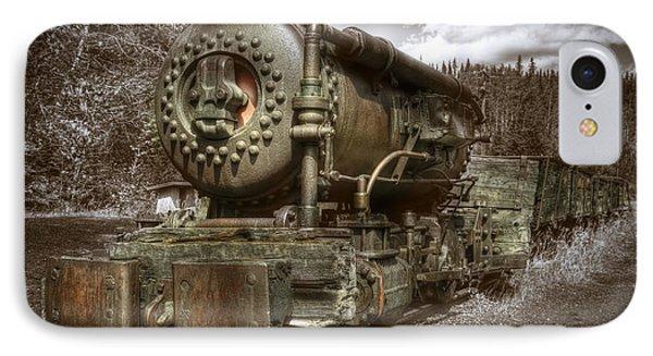 Old Mine Train Banff IPhone Case by Diane Dugas