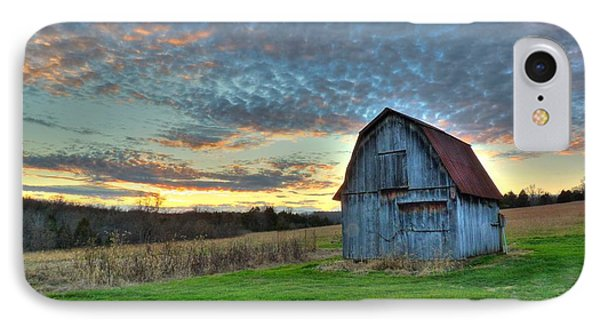 IPhone Case featuring the photograph Old Mines Barn by William Fields