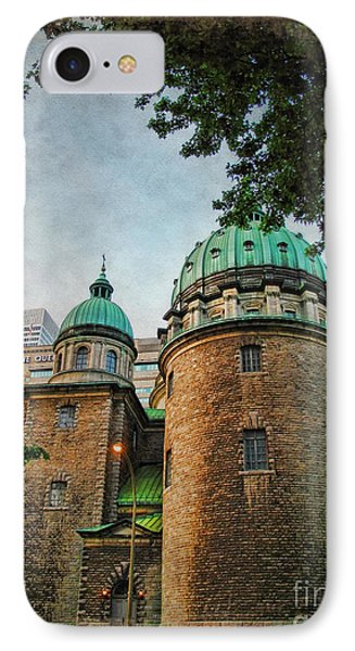 Old Montreal Church Phone Case by Joan  Minchak