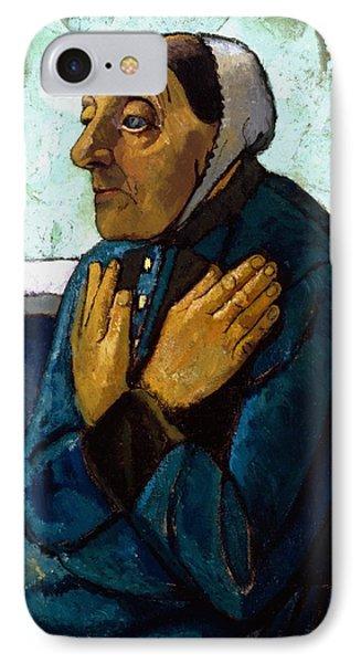 Old Peasant Woman Phone Case by Paula Modersohn-Becker