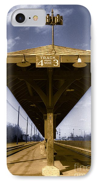 Old Railway Platform Phone Case by Gordon Wood