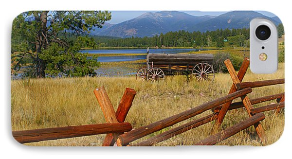 Old Ranch Wagon Phone Case by Marty Koch