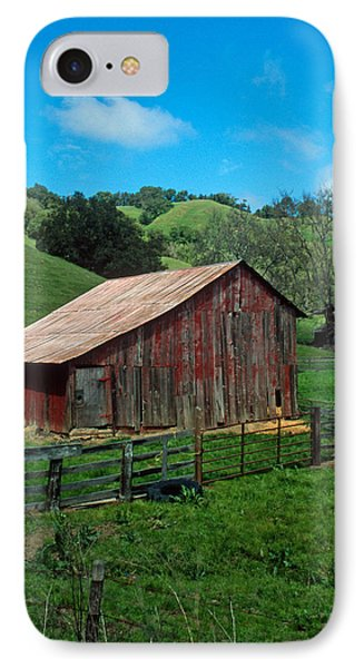 Old Red Barn Phone Case by Kathy Yates