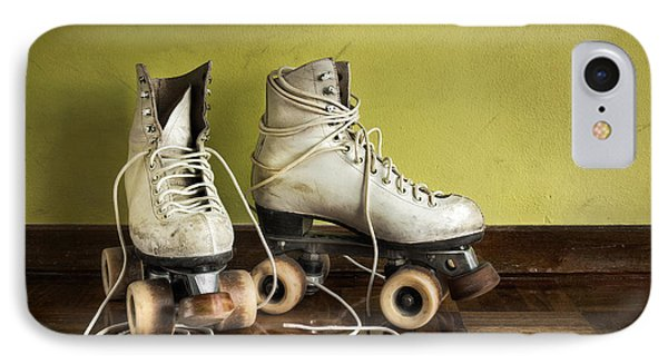 Old Roller-skates Phone Case by Carlos Caetano