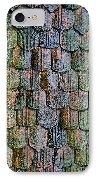Old Roof Tiles Phone Case by Jen Morrison