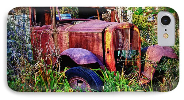Old Rusting Truck Phone Case by Garry Gay