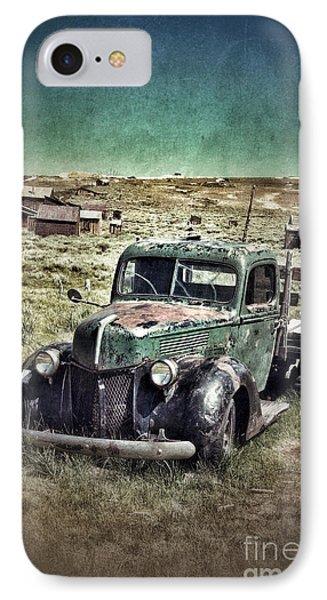 Old Rusty Truck IPhone Case by Jill Battaglia