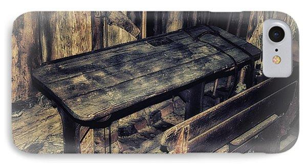 Old School Desk Phone Case by Jutta Maria Pusl