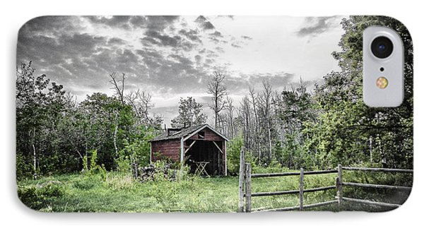 Old Shed Phone Case by Lori Frostad