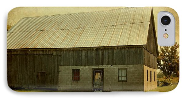 Old Textured Barn Phone Case by Sophie Vigneault
