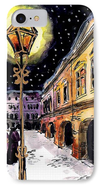 Old Time Evening IPhone Case by Mona Edulesco