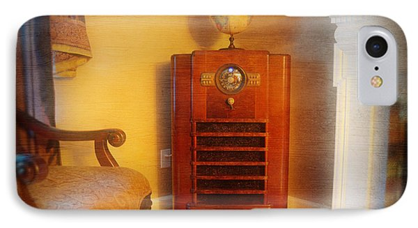 Old Time Radio Phone Case by Paul Ward