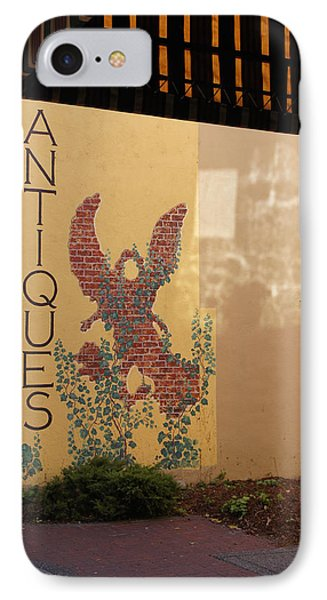IPhone Case featuring the photograph Old Town Grants Pass Detail by Mick Anderson
