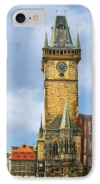 Old Town Hall Prague Cz Phone Case by Christine Till
