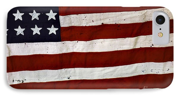 Old Usa Flag IPhone Case