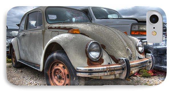 Old Vw Beetle IPhone Case by Jonathan Davison