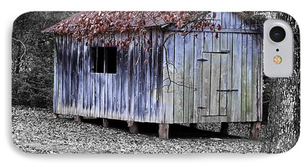 Old Weathered Shed Phone Case by Betty LaRue