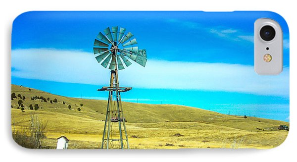 IPhone Case featuring the photograph Old Windmill by Shannon Harrington